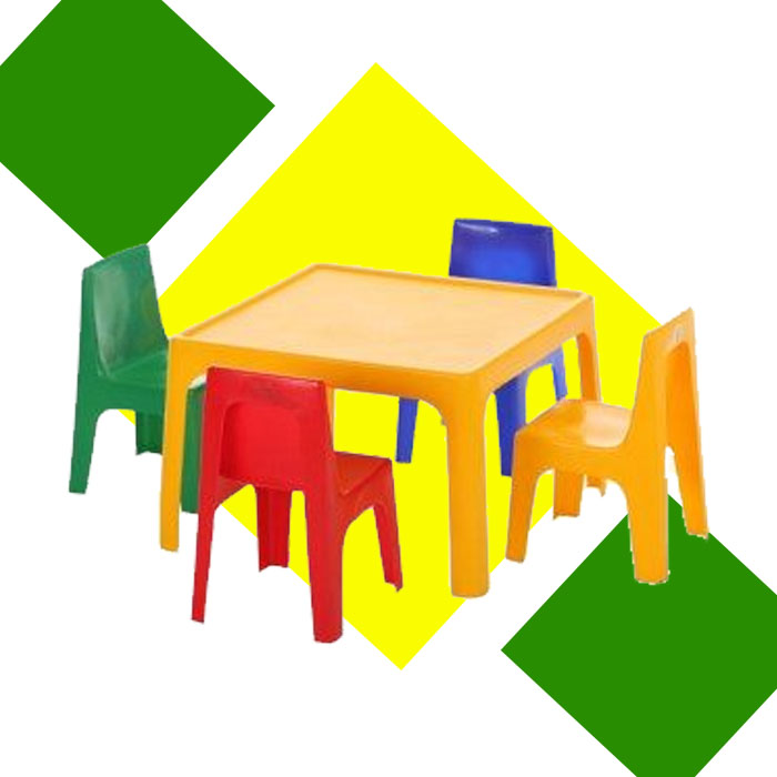 SCHOOL TABLES AND CHAIRS